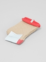 Couverture and The Garbstore Womens Hansel From Basel Waffle Crew Socks