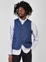 Couverture And The Garbstore Mens Post Overalls Royal Traveller Vest