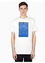 Mens White Vacant T Shirt