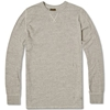 National Athletic Goods Long Sleeve Gym Tee Mid Grey