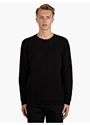 14 Men's Black Cotton Sweatshirt