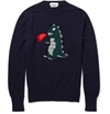 Michael Bastian Monster Intarsia Cashmere Sweater Mr Porter