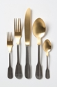 Gold Dipped Cutlery Anthropologie.Eu