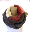 On Sale Infinity Scarf Knit Infinity Scarf By Senoaccessory