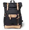 Master Piece c2 a0Surpass Leather Trimmed Canvas Backpack c2 a0 7c c2 a0MR PORTER