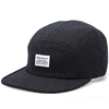 Norse Projects Wool Flannel 5 Panel Cap Charcoal Grey