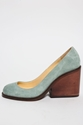 Durbuy Suede Wooden Pump Koshka Fashion Trends Boutique