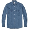 Our Legacy 2 Pocket Shirt Light Washed Denim