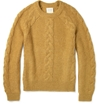 Billy Reid c2 a0Cable Knit Mohair Blend Sweater c2 a0 7c c2 a0MR PORTER