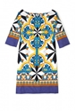 Philosophy di Alberta Ferretti 7c Tile Print Tunic Dress by Philosophy di Alberta Ferretti