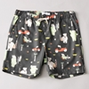 Soulland Babar Old Lady Paris Shorts Black