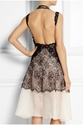 Stella Mccartney Alan Lace And Silk Organza Dress Net A Porter.Com