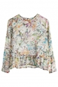 Landon Flower Blouse 7c Weekday
