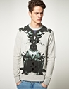 Elvis Jesus 7c Elvis Jesus Shrine Sweat Shirt at ASOS