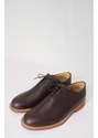 Brown Grain One piece Derby Shoe Shoe from Triads UK