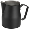 Amazon.Com Motta Stainless Steel Professional Milk Pitcher Jugs 17 Fluid Ounce Black Kitchen Dining