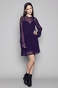 GOOD AS GOLD BLAK BASICS whimsical dress 2c purple