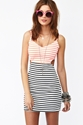 Seeing Stripes Cutout Dress in Clothes Dresses at Nasty Gal