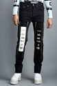 Hood By Air Zip Off Graphic Jeans Women Opening Ceremony