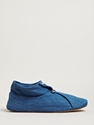 Levi's Red Unisex Denim And Silk Slipper Shoes Ln Cc