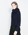 Wide Turtle Neck Jersey Knitwear Woman Zara United States