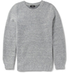 A.P.C. Woven Wool Blend Sweater Mr Porter