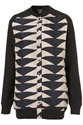 Longline Silk Aztec Bomber Jacket Rave New World Collections Topshop