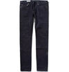 Maison Kitsune Slim Fit Slub Denim Jeans