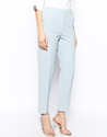 Asos Asos Trousers In Slim Ankle Grazer At Asos