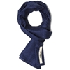 The Hill Side Linen Indigo Discharge Print Scarf Pin Dot