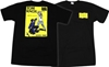 Amazon com 3a Santa Cruz Knox Cop Beater Skateboard T Shirt 5bSmall 5d Black 3a Sports 26 Outdoors