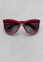 Other Stories Ruby Red Sunglasses