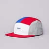 Flatspot Huf Lo Down 5 Panel Cap Red White Blue