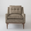 Jack Chair Nubby Tweed Chairs Furniture