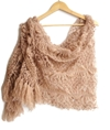 Spring Beige Rectangle Scarf Luxurious Wrap By Senoaccessory