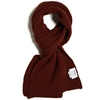 Norse Projects X Johnstons Scarf Pale Holmen Red