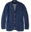 Oliver Spencer c2 a0Unstructured Lightweight Washed Denim Chambray Jacket c2 a0 7c c2 a0MR PORTER
