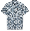 Hentsch Man Printed Short Sleeved Cotton Shirt Mr Porter