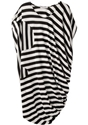 Tsumori Chisato 2f Asymmetric Striped Dress 7c La Gar c3 a7onne