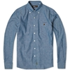 Mr. Bathing Ape Button Down Chambray Shirt Indigo