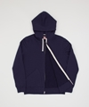 The Real McCoy 27s 10oz Sweat Parka Navy Superdenim