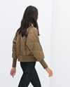 Short Padded Bomber Jacket Outerwear Woman Collection Aw14 Zara United States