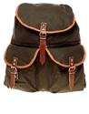 Reclaimed Vintage 7c Reclaimed Vintage Exclusive To ASOS Canvas Backpack at ASOS