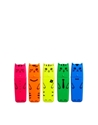 Paperchase Paperchase 5 Pack Cat Highlighter Pens At Asos