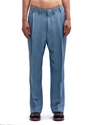 Lanvin Men's Technical Wide Pleated Pants Ln Cc