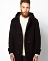 Gloverall Gloverall Duffle Coat In Checkback Wool At Asos
