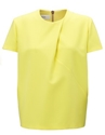 Yellow Pleat Top 7c C c3 a9dric Charlier 7c Avenue32