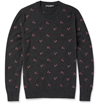 Dolce Gabbana Embroidered Cashmere Sweater Mr Porter