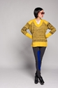 Lucca Couture Yellow Knit Pullover Koshka Fashion. Trends. Boutique.