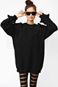 Spiked Sweatshirt in What 27s New at Nasty Gal